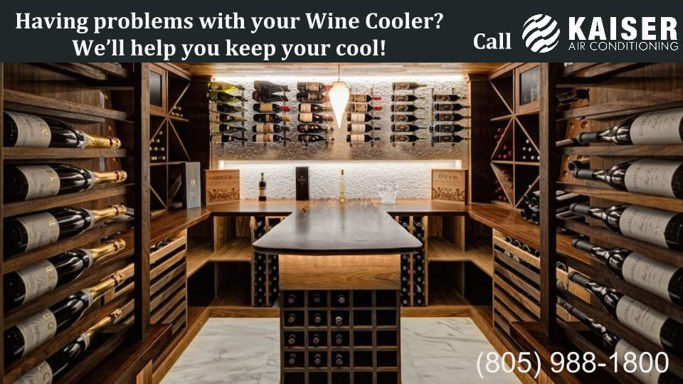 Having problems with your Wine Cooler- We'll help you keep your cool!