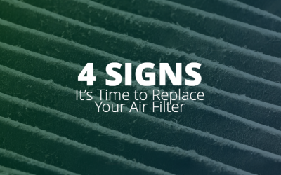 Four Signs It's Time to Replace Your Air Filter