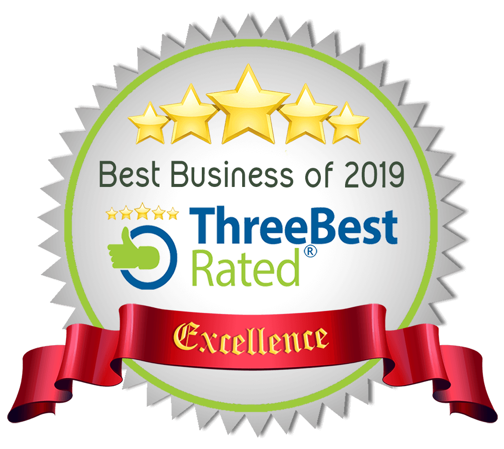 Three best rated award 2018 for best HVSC company in Oxnard