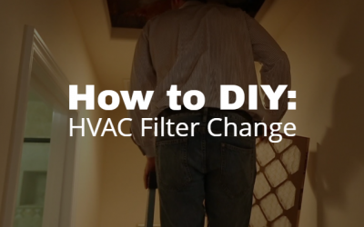 How to DIY: HVAC Filter Change