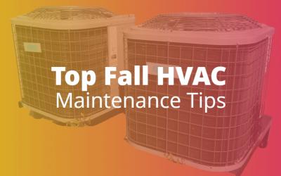 Top Fall HVAC Maintenance Tips