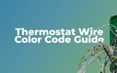 Thermostat Wire Color Code Guide